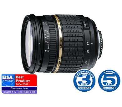 Tamron AF SP 17-50mm F/2.8 pro Sony XR Di-II LD Asp.(IF)