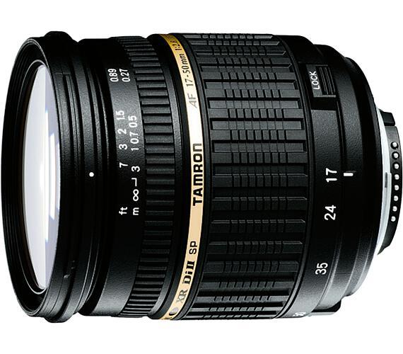 Tamron AF SP 17-50mm F/2.8 pro Nikon XR Di-II LD Asp.(IF) + DOPRAVA ZDARMA