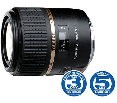 Tamron SP AF 60mm F/2.0 Di-II pro Sony LD (IF) Macro 1:1