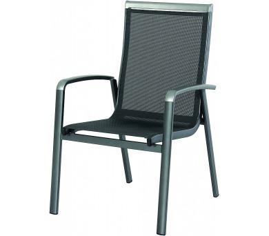 Garland Forios hliníková stohovatelná židle + DOPRAVA ZDARMA