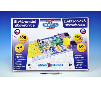 Stavebnice Boffin II. 185 elektronická 185 projektů na baterie 40ks v krabici + DOPRAVA ZDARMA