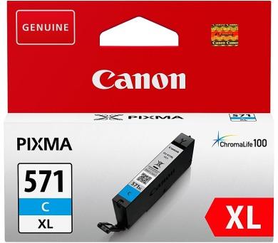 Canon CLI-571XL C - azurový