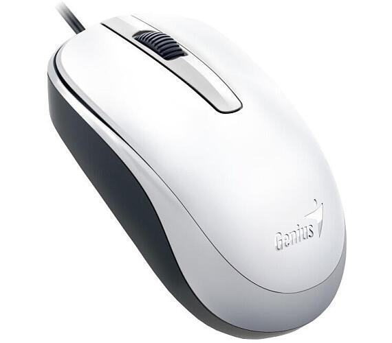 Genius DX-120 / optická / 3 tlačítka / 1200dpi - bílá