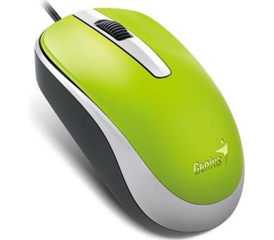 Genius DX-120 / optická / 3 tlačítka / 1200dpi - zelená
