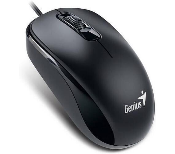 Genius DX-110 / optická / 3 tlačítka / 1000dpi - černá