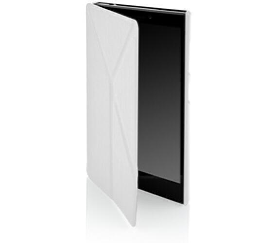 Pouzdro na mobil flipové GoGEN pro Lenovo VIBE SHOT - bílé ... 78204595353