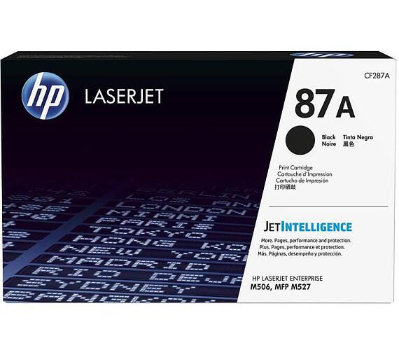 Toner HP CF287A laserjet - černý + DOPRAVA ZDARMA
