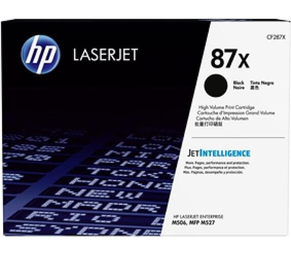 Toner HP CF287X laserjet - černý