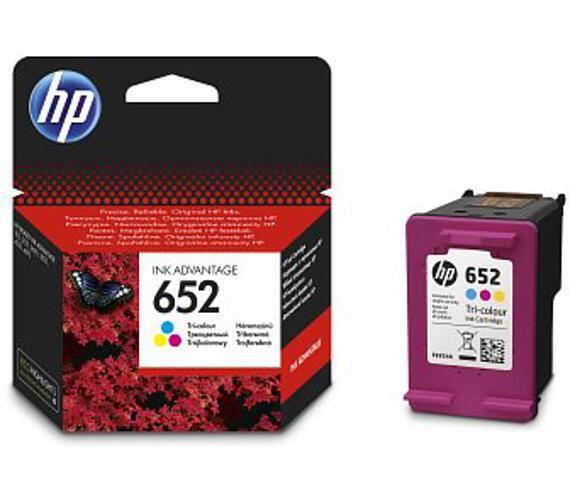 Inkoustová náplň HP 652
