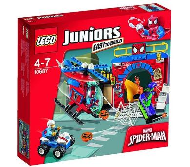 Stavebnice Lego® Juniors 10687 Spider-Manova skrýš