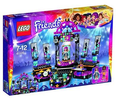 Stavebnice Lego® Friends 41105 Pódium pro vystoupení popových hvězd