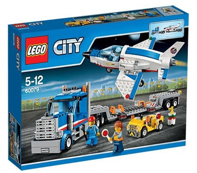 Stavebnice Lego® City Space Port 60079 Transportér pro převoz raketoplánu