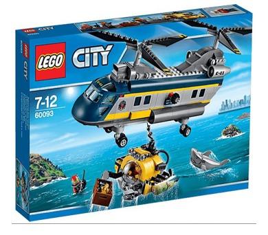 Stavebnice Lego® City Deep Sea Explorers 60093 Vrtulník pro hlubinný mořský výzkum