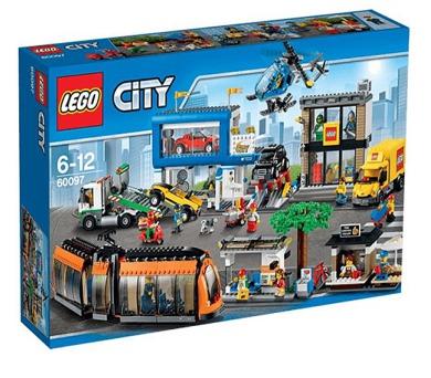 Stavebnice LEGO® CITY Town 60097 Náměstí ve městě + DOPRAVA ZDARMA