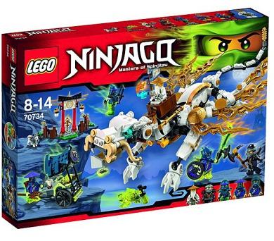 Stavebnice Lego® Ninjago 70734 Drak Mistra Wu