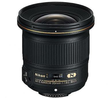 Nikon 20MM F1.8G AF-S NIKKOR + DOPRAVA ZDARMA