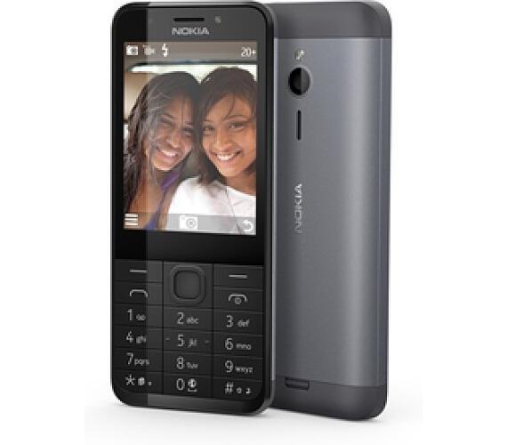 Nokia 230 Single SIM - černý + DOPRAVA ZDARMA