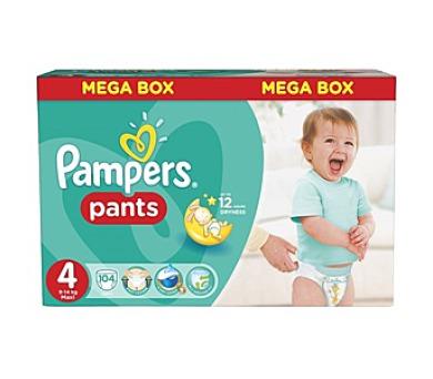 Pampers Mega Box vel. 4