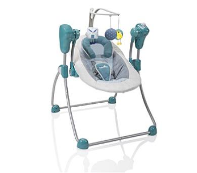 Babymoov Bubble Swing PETROL - šedá/zelená + DOPRAVA ZDARMA