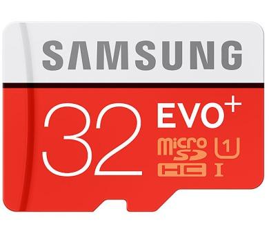 Samsung Micro SDHC EVO+ 32GB UHS-I U1 (80R/20W) + adapter