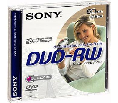 DMW 60 DVD-RW PŘEPIS. DVD 8cm Sony