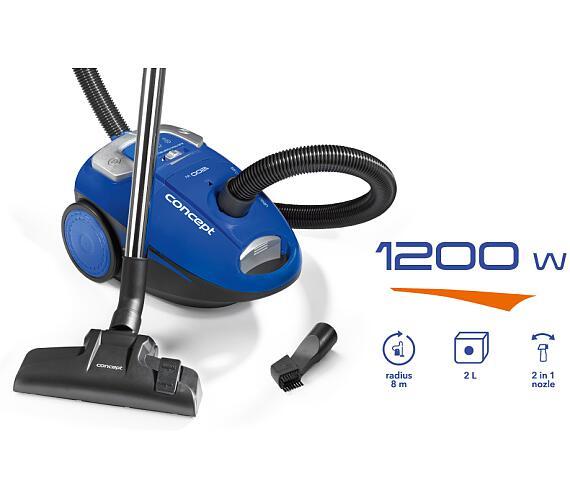 Concept VP8050 Sáčkový vysavač 1200 W + DOPRAVA ZDARMA