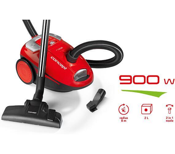 Concept VP8051 Sáčkový vysavač 900 W