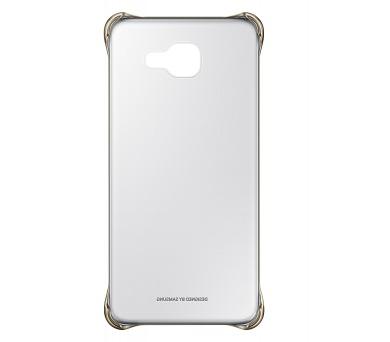 Samsung Clear Cover pro Galaxy A3 2016 - zlatý + DOPRAVA ZDARMA