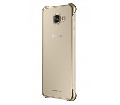 Samsung Clear Cover pro Galaxy A5 2016 - zlatý + DOPRAVA ZDARMA