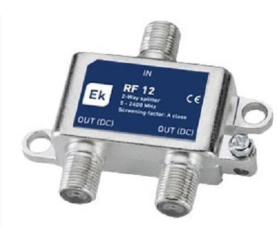 Rozbočovač satelitní 2xF EK IST RF12