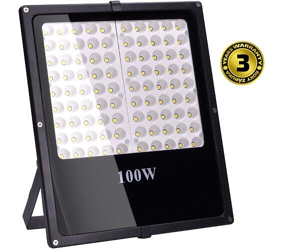 LED reflektor SMD 100W černý 8500lm + DOPRAVA ZDARMA