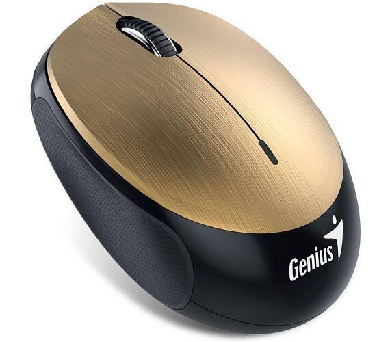 Genius NX-9000BT / optická / 3 tlačítka / 1200dpi - zlatá
