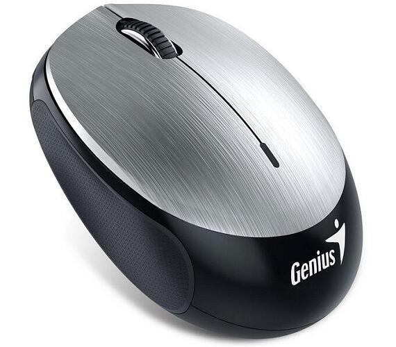 Genius NX-9000BT / optická / 3 tlačítka / 1200dpi - stříbrná