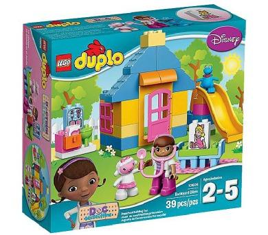 Stavebnice LEGO® DUPLO Doktorka Plyšáková 10606 Ordinace na dvorku + DOPRAVA ZDARMA
