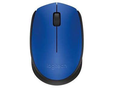 Logitech Wireless Mouse M171 / optická / 2 tlačítka / 1000dpi - modrá