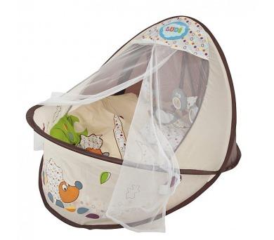 Ludi Nature - hnízdo pro miminko - béžová/hnědá