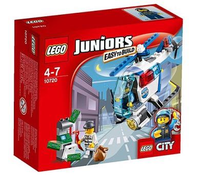 Stavebnice Lego® Juniors 10720 Pronásledování s policejní helikoptérou