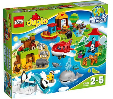Stavebnice LEGO® DUPLO 10805 Cesta kolem světa + DOPRAVA ZDARMA