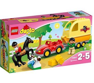 Stavebnice Lego® DUPLO 10807 Přívěs pro koně