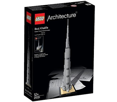 Stavebnice LEGO® ARCHITECTURE 21031 Burdž Chalífa + DOPRAVA ZDARMA
