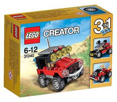 Stavebnice Lego® Creator 31040 Pouštní závoďáky