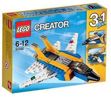 Stavebnice LEGO® CREATOR 31042 Super stíhačka