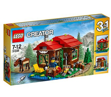 Stavebnice LEGO® CREATOR 31048 Chata u jezera + DOPRAVA ZDARMA