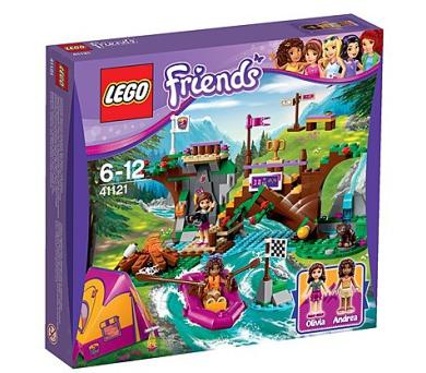 Stavebnice Lego® Friends 41121 Dobrodružný tábor - jízda na divoké vodě