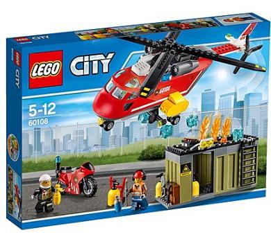 Stavebnice LEGO® CITY Fire 60108 Hasičská zásahová jednotka
