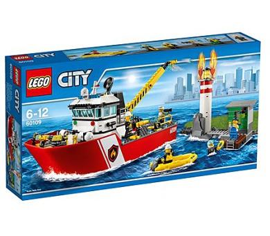 Stavebnice LEGO® CITY Fire 60109 Hasičský člun