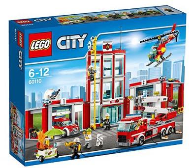 Stavebnice LEGO® CITY Fire 60110 Hasičská stanice