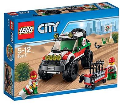 Stavebnice Lego® City Great Vehicles 60115 Terénní vozidlo 4 x 4
