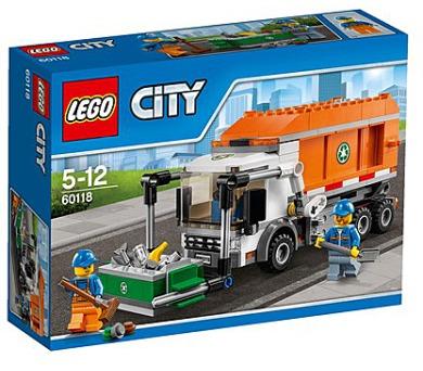 Stavebnice Lego® City Great Vehicles 60118 Popelářské auto