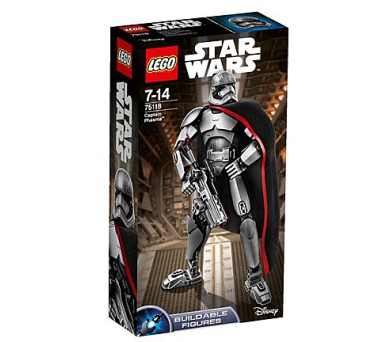 Stavebnice Lego® Star Wars TM 75118 Kapitánka Phasma™ + DOPRAVA ZDARMA